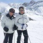 Mandy enjoying time on the slopes