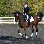 Mandy Competing at dressage