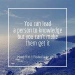 You can lead a person to sml
