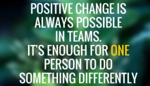 postive change 1